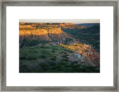 Palo Duro Canyon State Park, Texas Framed Print