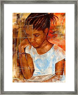 Paloma Framed Print by Laurend Doumba