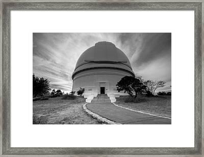Palomar Observatory Framed Print