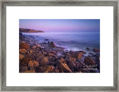 Palos Verdes Evening Framed Print by Marco Crupi