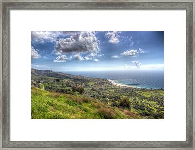 Palos Verdes Peninsula Hdr Framed Print by Heidi Smith