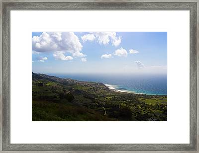 Palos Verdes Peninsula Framed Print by Heidi Smith