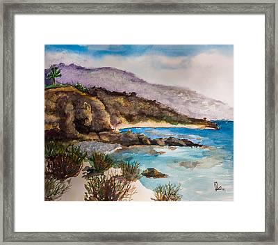 Palos Verdes Peninsula Framed Print