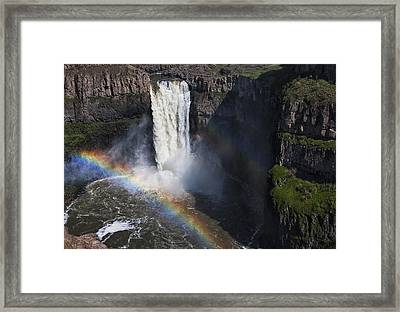 Palouse Falls II Framed Print by Mark Kiver