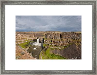 Palouse Falls Framed Print