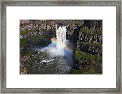 Palouse Falls Framed Print by Mark Kiver