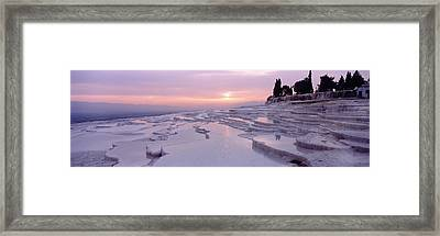Pamukkale Turkey Framed Print by Panoramic Images