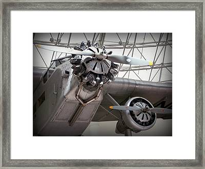 Pan Am Airplane Framed Print by Karyn Robinson