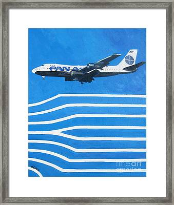 Pan Am Clipper Framed Print