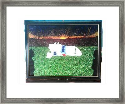 Pan Am Flight 103 Lockerbie Framed Print