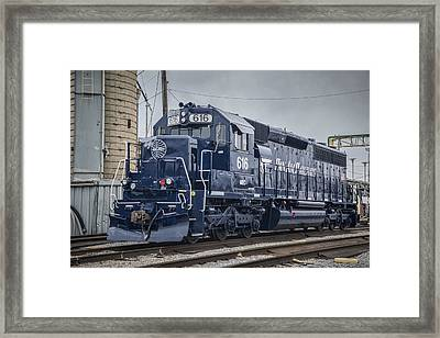 Pan Am Railways 616 At Madisonville Ky Framed Print by Jim Pearson