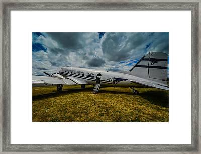 Pan American Airways Dc3 Framed Print by Puget  Exposure
