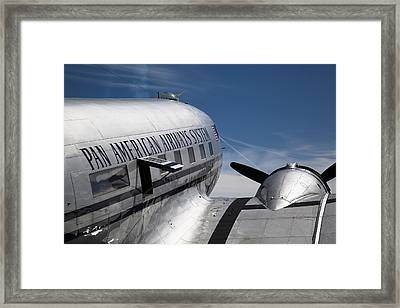 Pan American Airways System Framed Print by Ashley Roberts