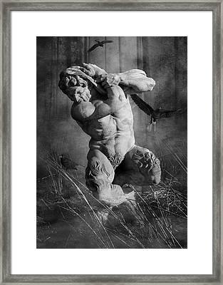 Pan Framed Print
