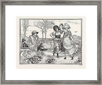 Pan Pipes Framed Print by Crane, Walter (1845-1915), English