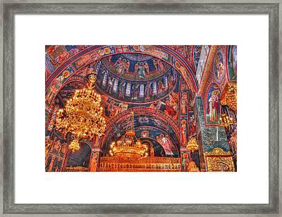 Panagia Katholiki Kremasti Rhodes Framed Print