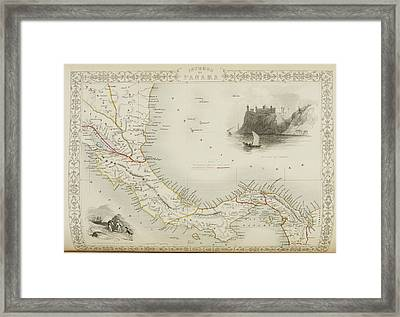 Panama Framed Print