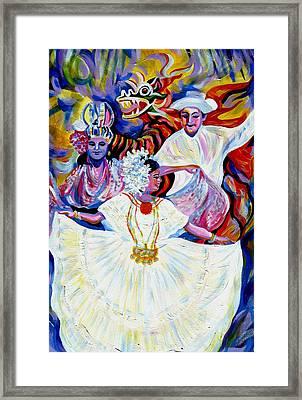 Panama Carnival. Fiesta Framed Print
