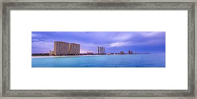 Panama City Beach Framed Print by David Morefield