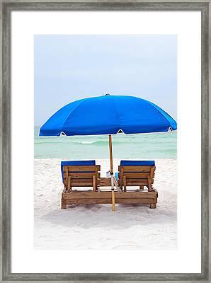 Framed Print featuring the photograph Panama City Beach Florida by Vizual Studio