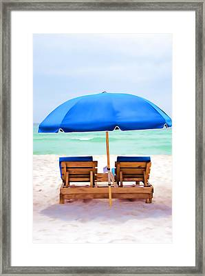 Framed Print featuring the photograph Panama City Beach II by Vizual Studio