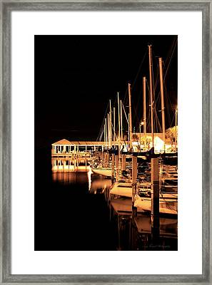 Panama City Marina Framed Print