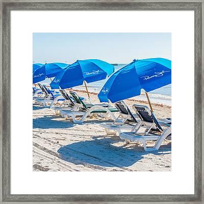 Panama Jack Blues - Higgs Beach - Key West - Square Framed Print