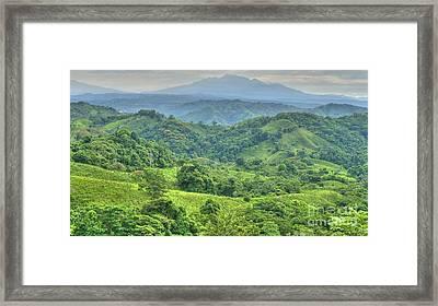 Panama Landscape Framed Print by Heiko Koehrer-Wagner
