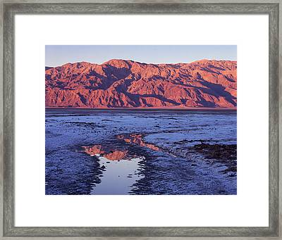 Panamint Reflection 2 Framed Print