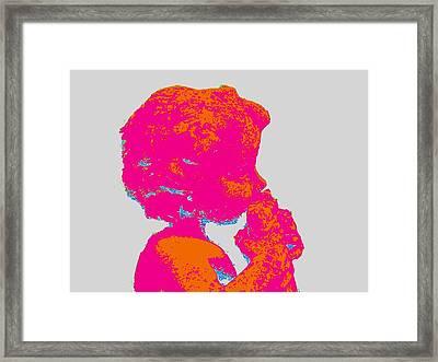 Panboy Flute Framed Print