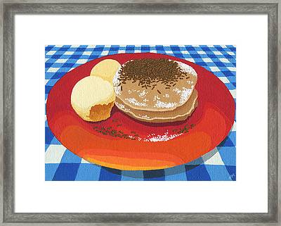 Pancakes Week 15 Framed Print