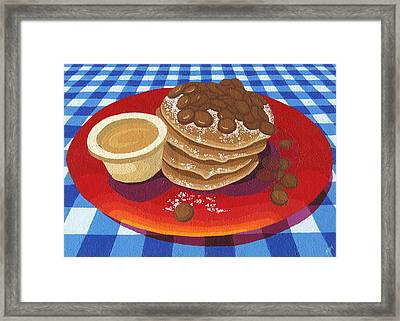 Pancakes Week 4 Framed Print