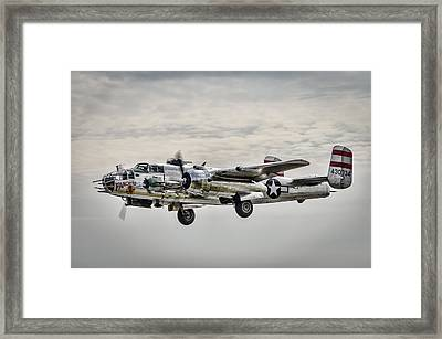 Panchito B-25 Framed Print by Brian Young