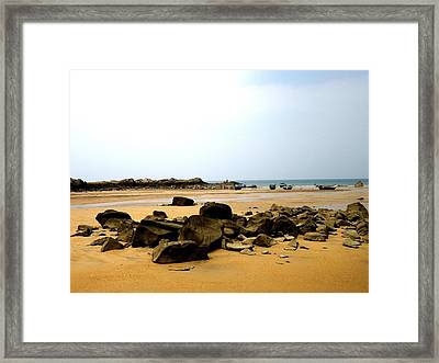 Pandan Beach Framed Print by Ali Mohamad