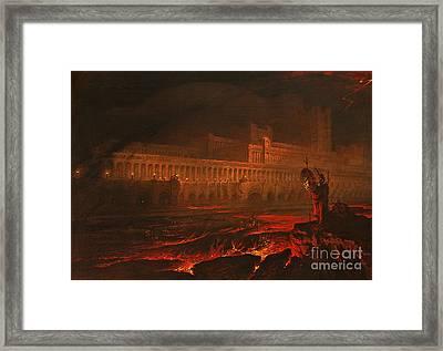 Pandemonium Framed Print by John Martin