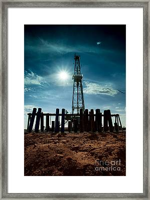 Cac010_panhandle_rig127-13 Framed Print by Cooper Ross