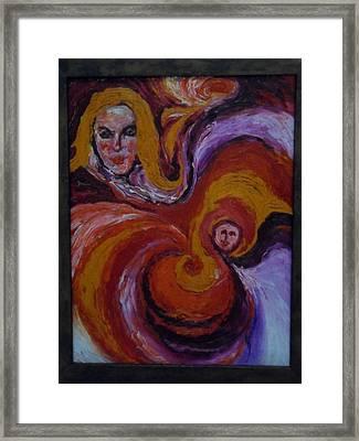 Pandora In 7th Heaven Framed Print