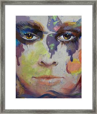 Pandora Framed Print by Michael Creese