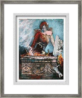 Pandora's Box Framed Print by Eve Riser Roberts