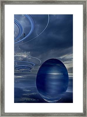 Panel 1 Of 3 Multi-panel  Mp3007 Framed Print by Frida Kaas