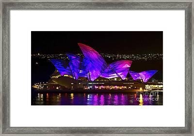 Panel Sails Framed Print by Bryan Freeman