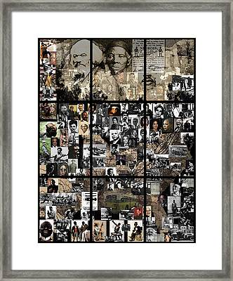 Panes Of History Framed Print