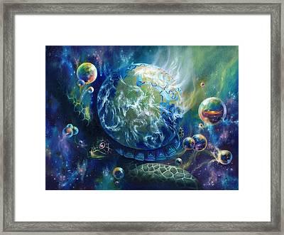 Pangaea Framed Print