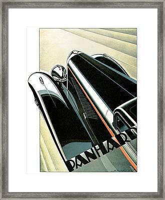 Art Poster Panhard Deco Car Ad Print