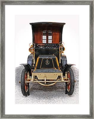 Panhard Levassor Tonneau Ferme Type A2 Framed Print