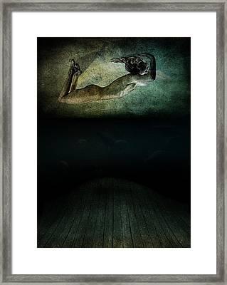 Panic Framed Print by Johan Lilja