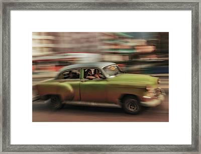 Panning Havana Framed Print