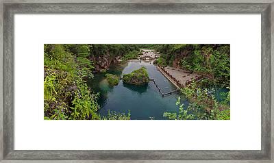 Panorama Ayn Garziz Framed Print