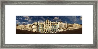 Panorama Of Catherine Palace Framed Print