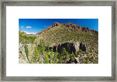 Panorama Of Dome Wilderness, San Miguel Framed Print